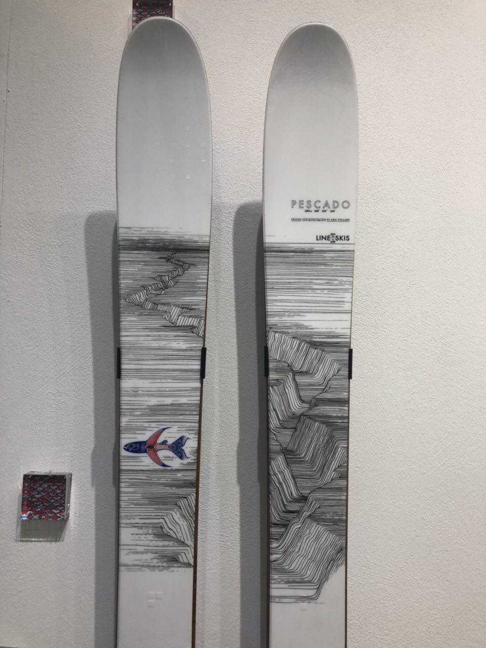 New Line Skis Pescado by Eric Pollard